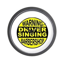 BARBERSHOP CIRCLE Wall Clock