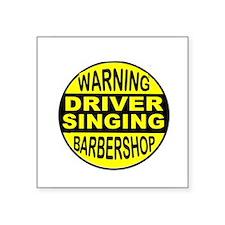 BARBERSHOP CIRCLE Sticker