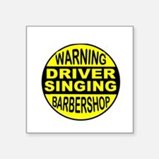 BARBERSHOP CIRCLE Sticker