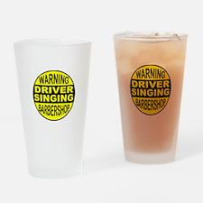 BARBERSHOP CIRCLE Drinking Glass
