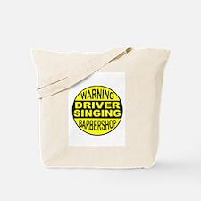 BARBERSHOP CIRCLE Tote Bag