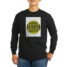 BARBERSHOP CIRCLE Long Sleeve T-Shirt