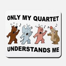 ANIMAL QUARTET Mousepad