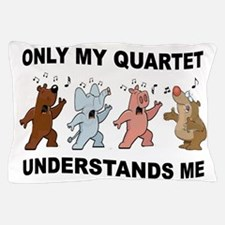 ANIMAL QUARTET Pillow Case