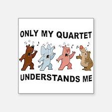 ANIMAL QUARTET Sticker