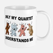 ANIMAL QUARTET Mugs