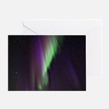 Northern Lights, Aurora borealis Greeting Card