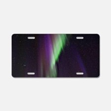 Northern Lights, Aurora bor Aluminum License Plate