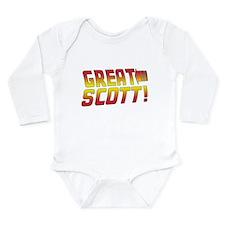 BTTF2 Long Sleeve Infant Bodysuit