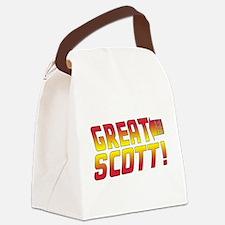 BTTF2 Canvas Lunch Bag