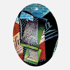Juan Gris - Still Life Dedicated to  Oval Ornament