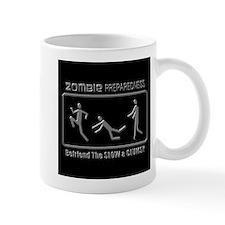 Zombie Preparedness Slow Clumsy Grey 3D Mugs