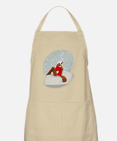 Cute little Christmas fox Apron