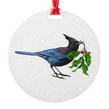 Jay Holly Ornament