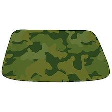 Green Camo Bathmat