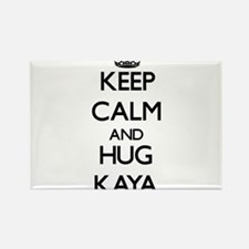 Keep Calm and HUG Kaya Magnets