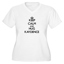 Keep Calm and HUG Kaydence Plus Size T-Shirt