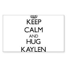 Keep Calm and HUG Kaylen Decal