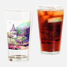 Garden Gazebo Drinking Glass