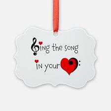 Heart Song Ornament