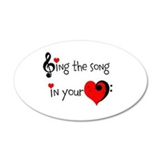 Heart Song Wall Decal