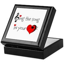 Heart Song Keepsake Box