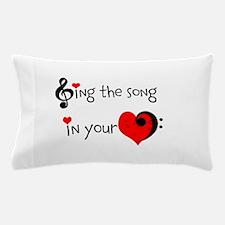 Heart Song Pillow Case