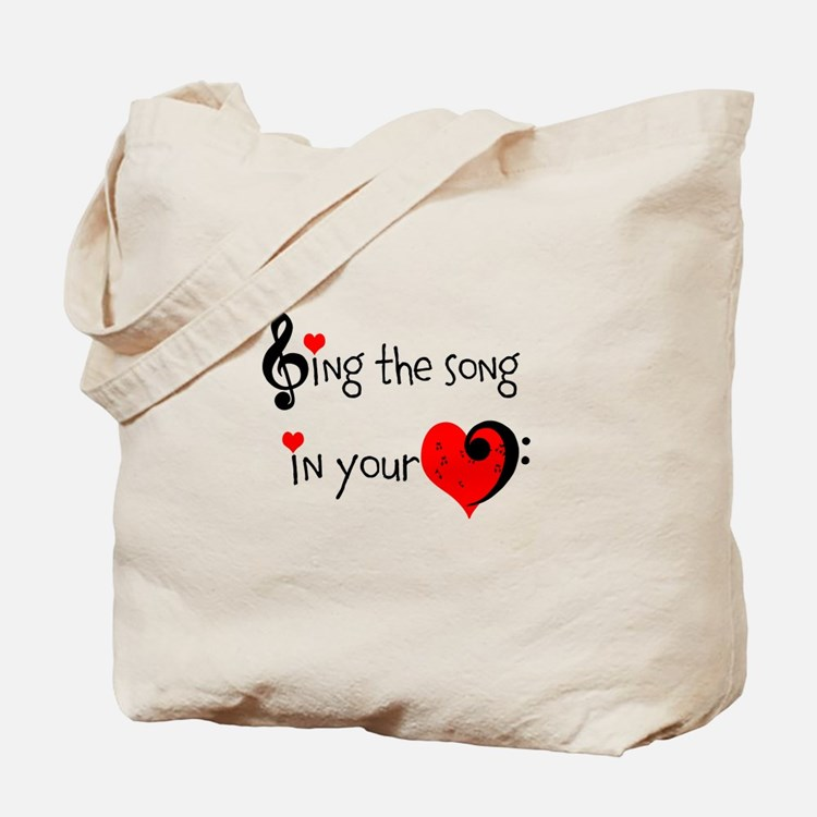 Heart Song Tote Bag