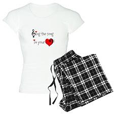 Heart Song pajamas