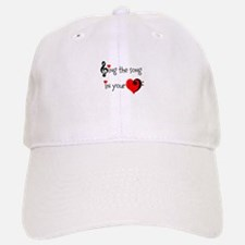 Heart Song Baseball Baseball Cap