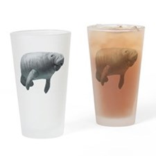 Manatee Drinking Glass