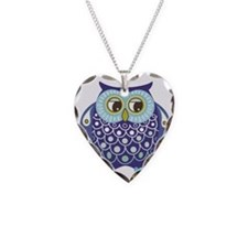 The Blue Owl Necklace