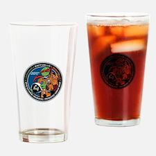 MLPM Program Logo Drinking Glass