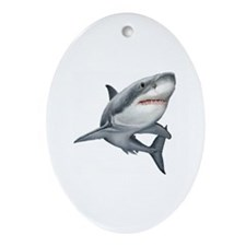 Shark Ornament (Oval)