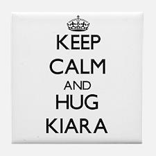 Keep Calm and HUG Kiara Tile Coaster