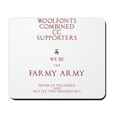 Farmy Army Mousepad