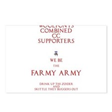 Farmy Army Postcards (Package of 8)