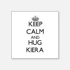 Keep Calm and HUG Kiera Sticker