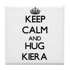 Keep Calm and HUG Kiera Tile Coaster