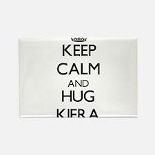 Keep Calm and HUG Kiera Magnets