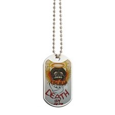 Death BY Pizza Dog Tags