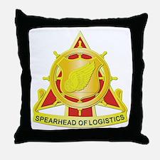 1052nd Transportation Company Throw Pillow