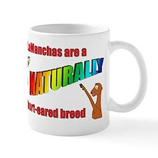 LaManchas are a NATURALLY short-eared breed! Mugs
