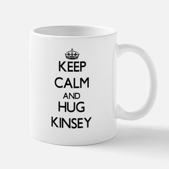 Keep Calm and HUG Kinsey Mugs