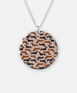 Dachshund Tan Necklace