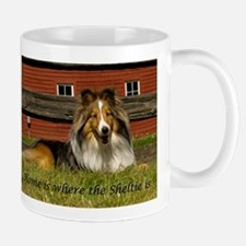 Home is where the Sheltie is Mugs
