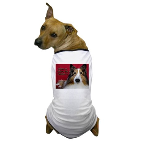 Home is where the Sheltie is Dog T-Shirt