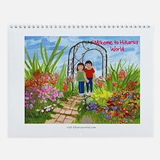 Hikaru's World Wall Calendar - Hikaru's Tree