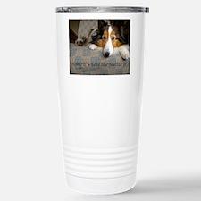 Home is where the Sheltie is Travel Mug