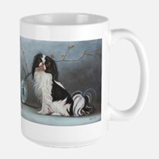 japanese chin Mugs